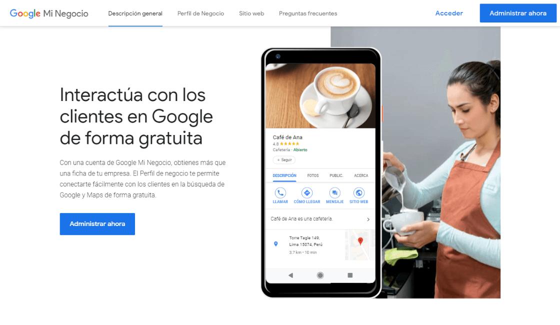 google my business para que sirve pasos para crear una cuenta