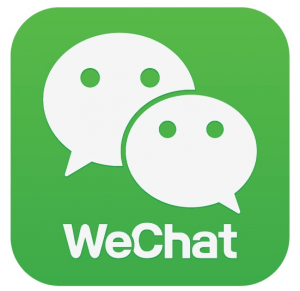 wechat como una red social popular