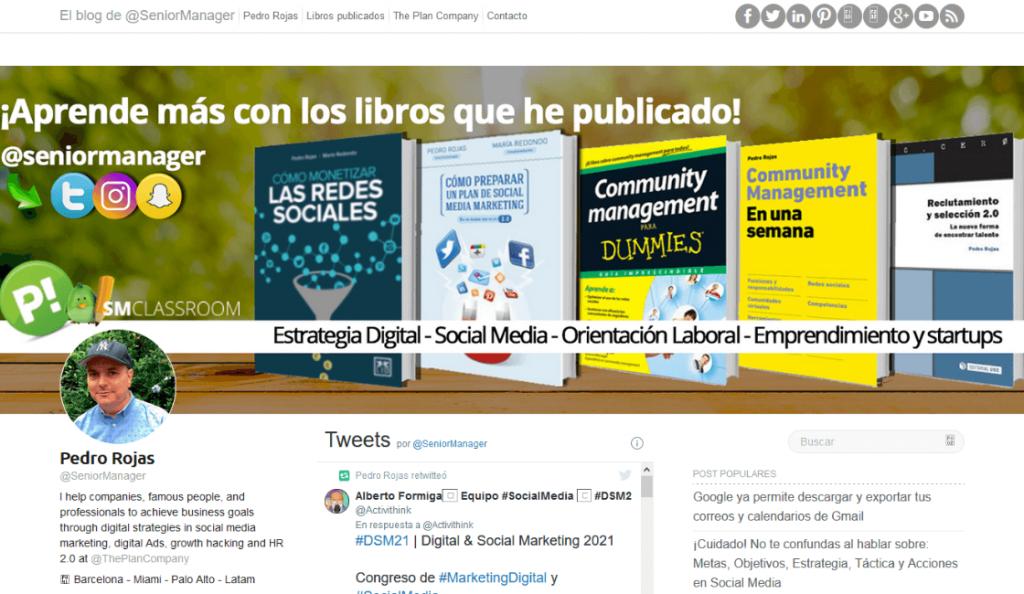 el blog de pedro rojas entre los blogs de marketing digital