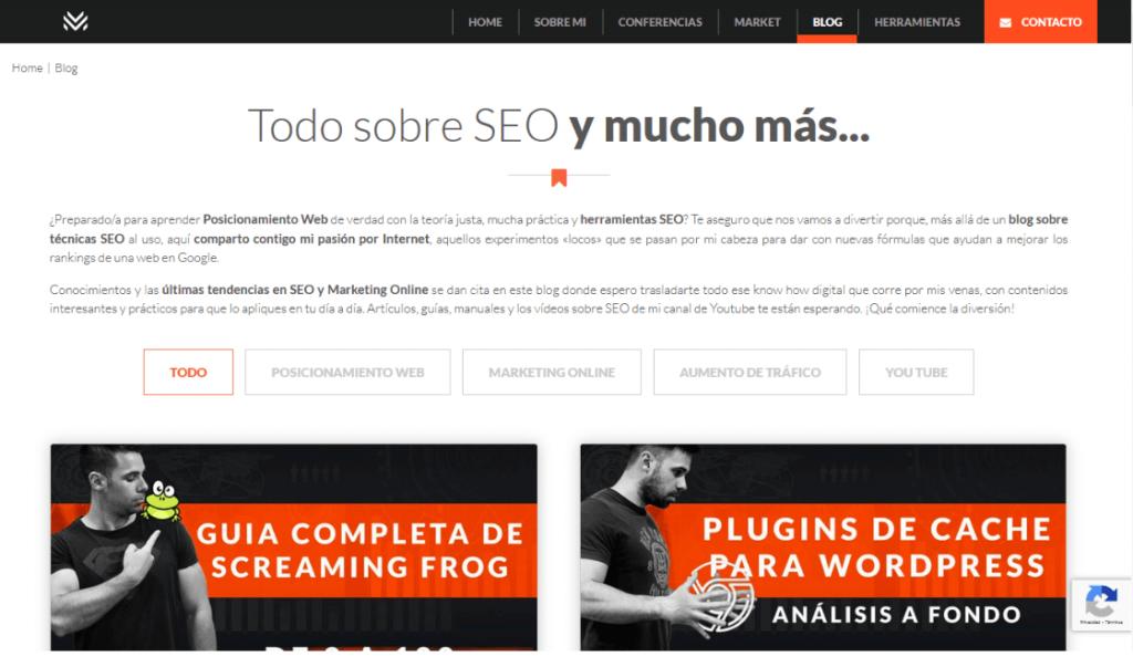 Luis M. Villanueva blog