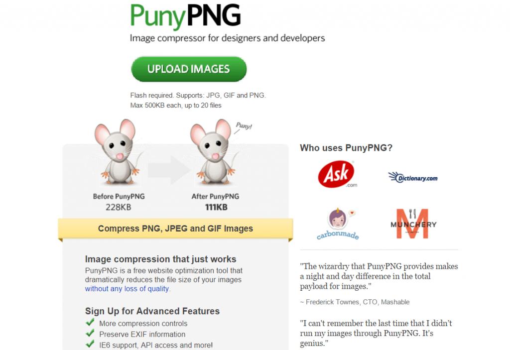 aplicacion gratuita punypng