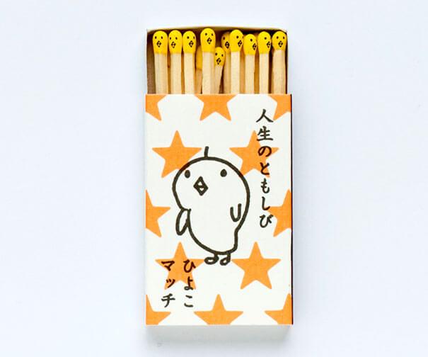 Fosforos Kokeshi packaging
