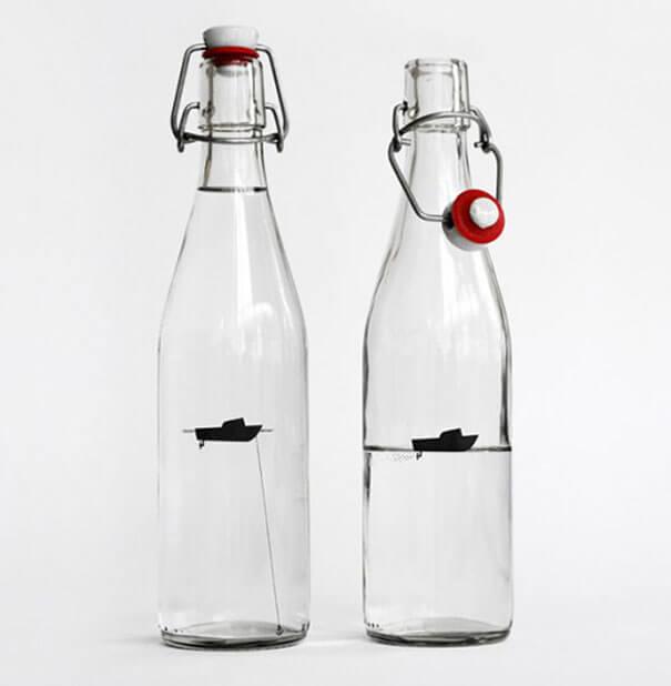 packaging creativos agua