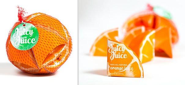 diseños packaging Juicy Juice