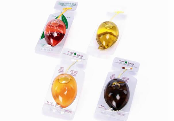 mini oil diseño packaging