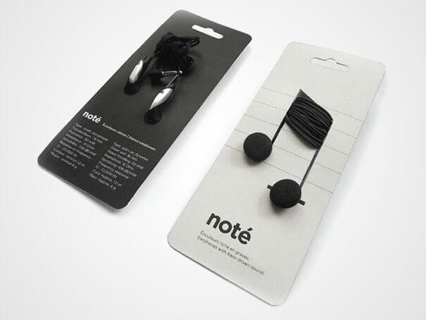 diseño producto audífonos note