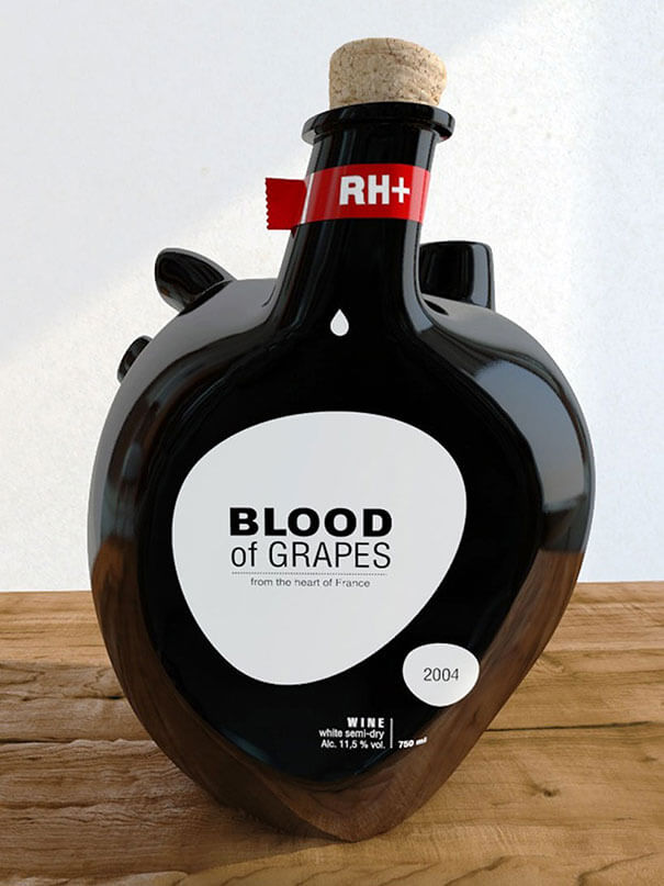 diseños packaging Blood of Grapes