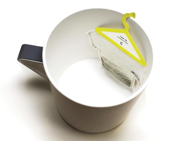 packaging colgadores de te