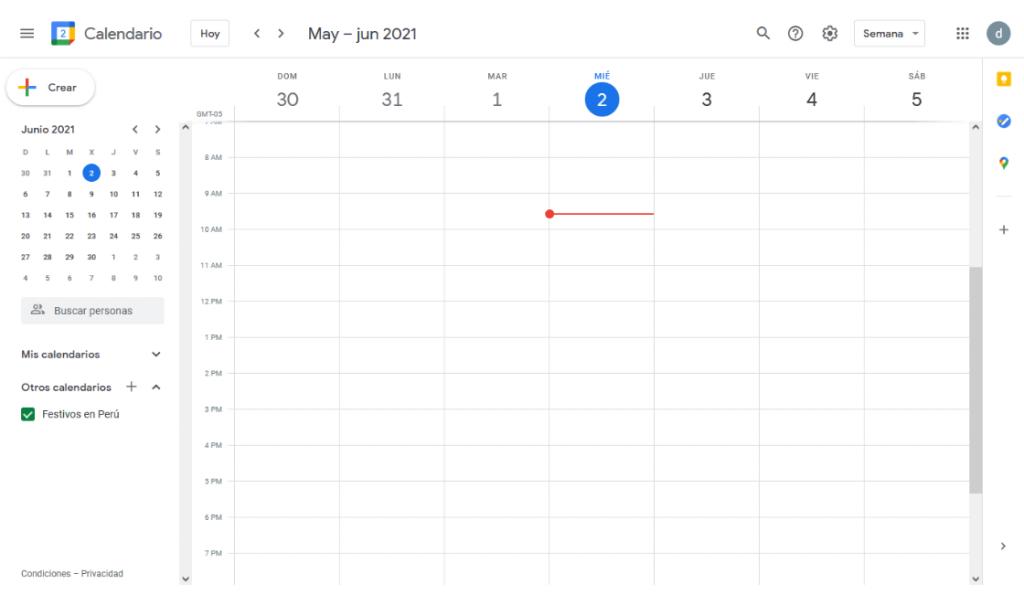 google calendar entre las plataformas