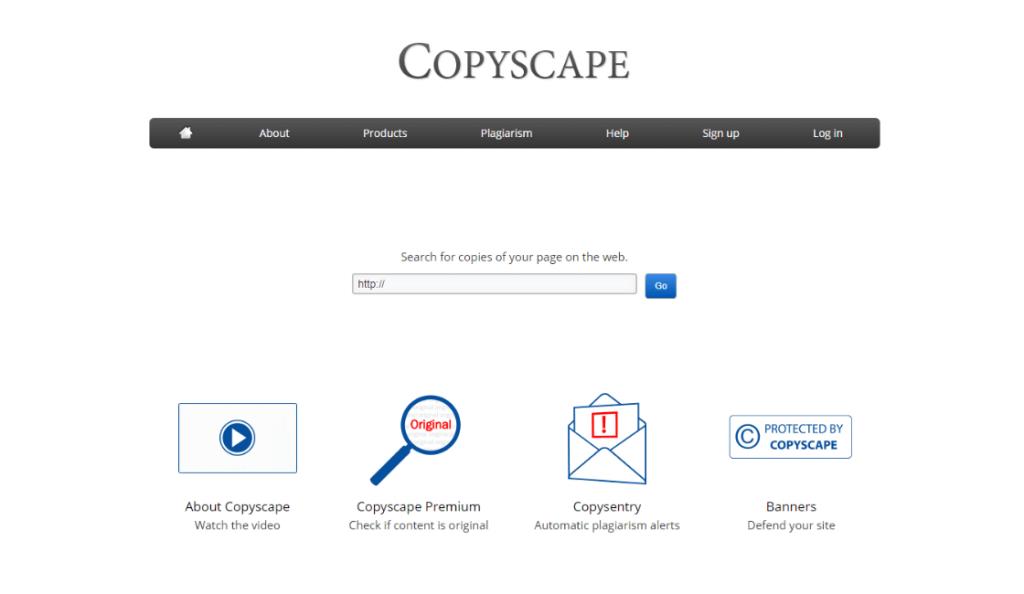 Copyscape herramientas para marketing de contenido