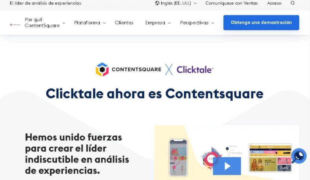 ContentSquare plataforma para experiencia de usuario UX