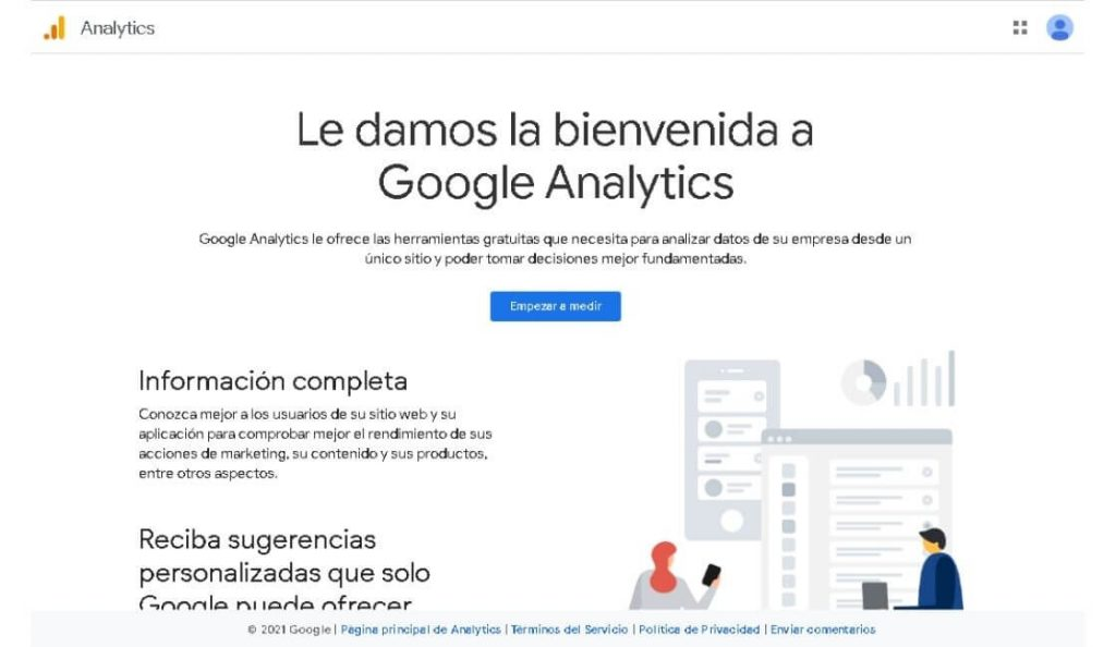 google analytics herramienta