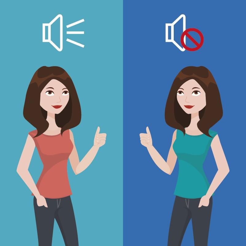 videos que se entiendan con o sin audio