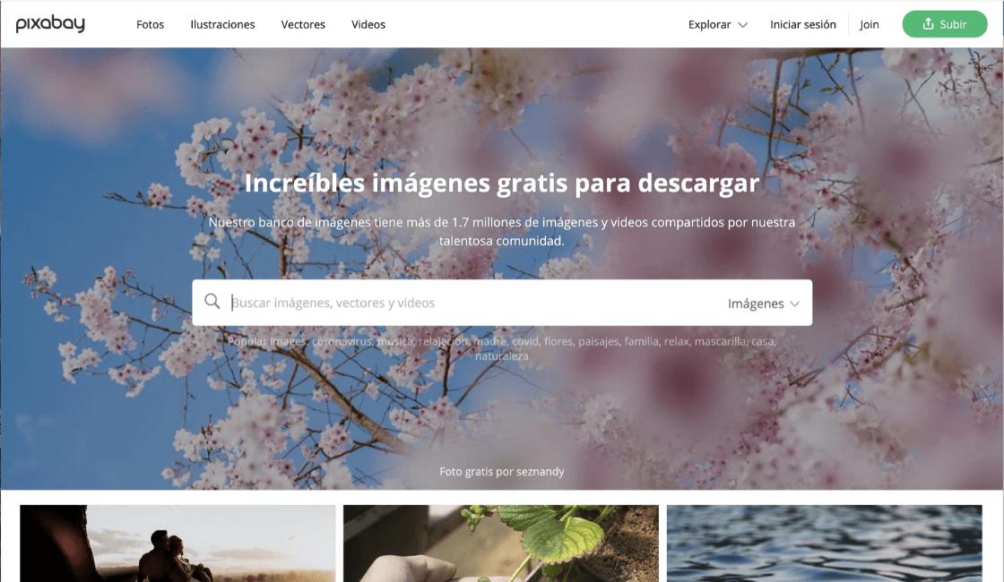 pixabay imágenes sin copyright gratis