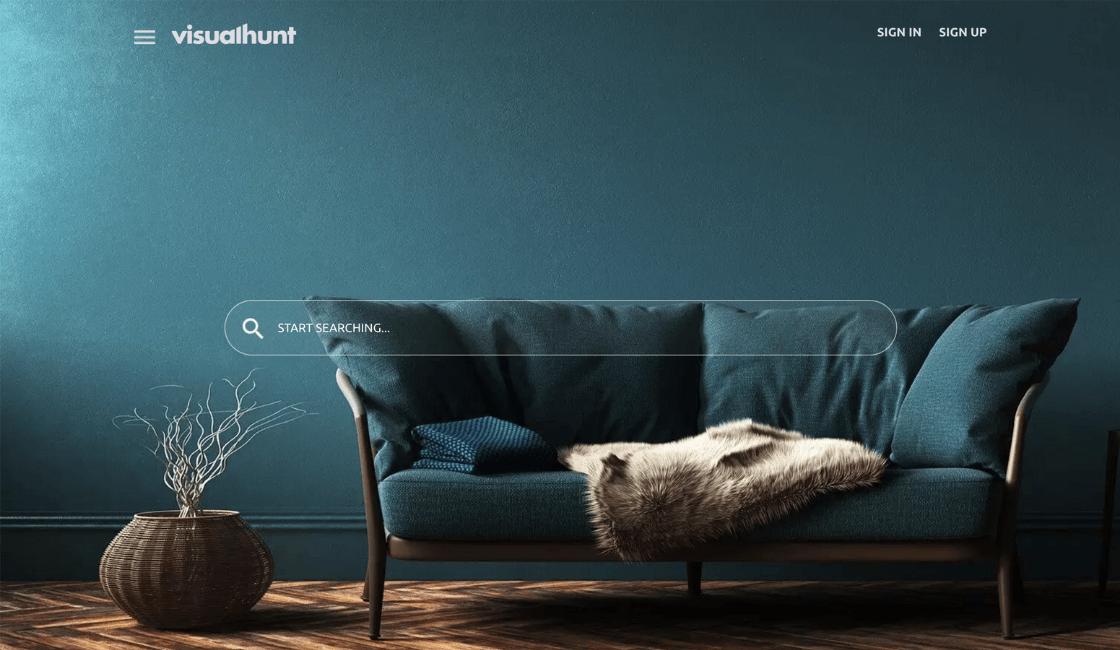visual hunt banco de imágenes gratis