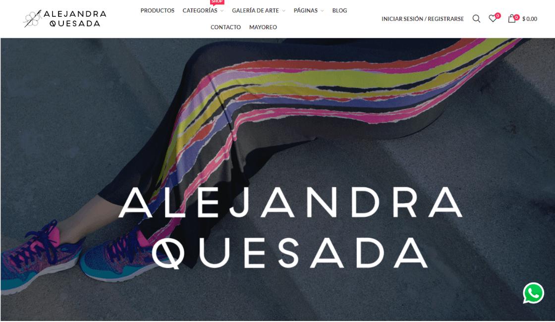 marketing digital marca de ropa mexicana alejandra quesada