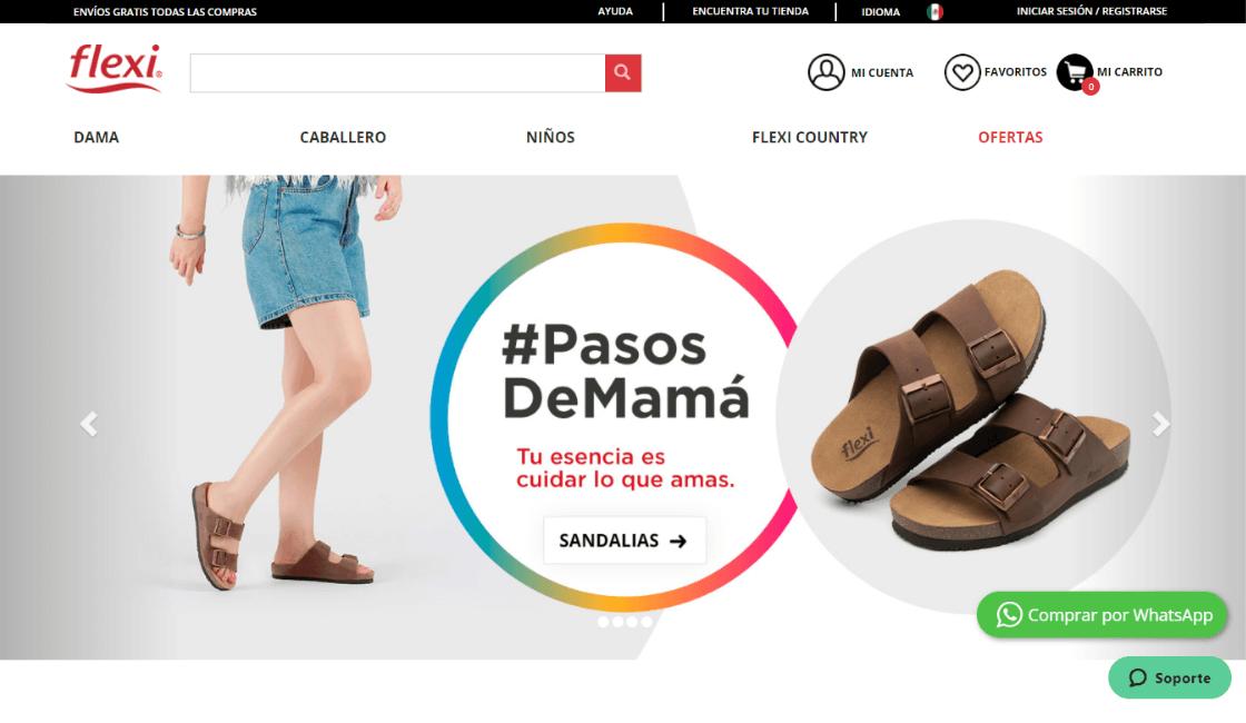 marketing digital marca mexicana flexi