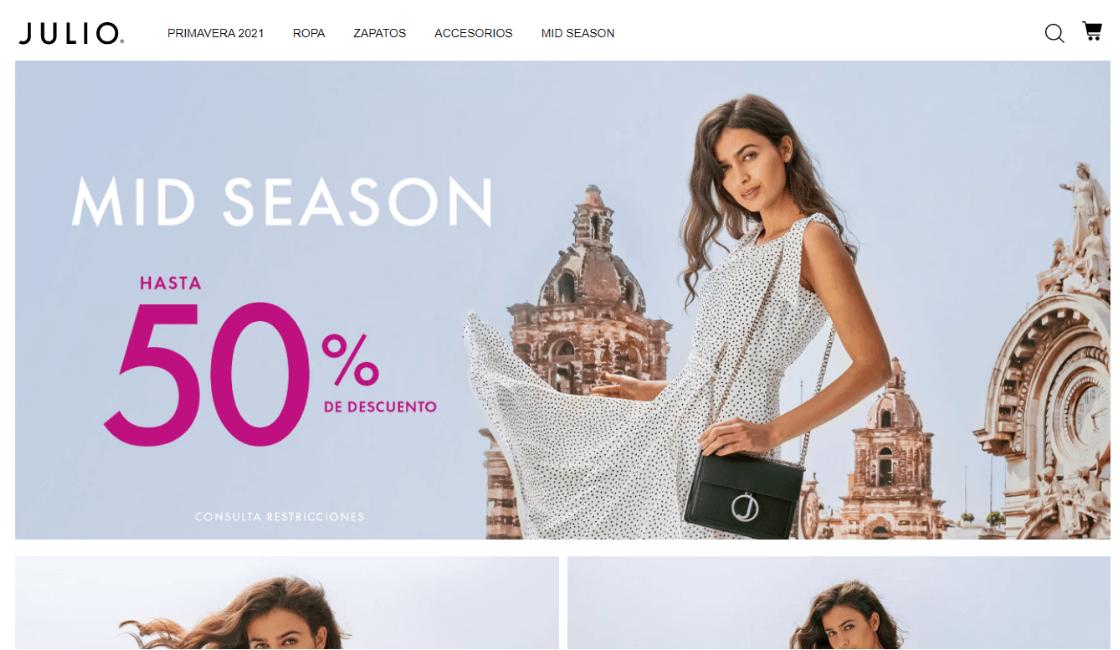 marketing de marca de ropa mexicana julio