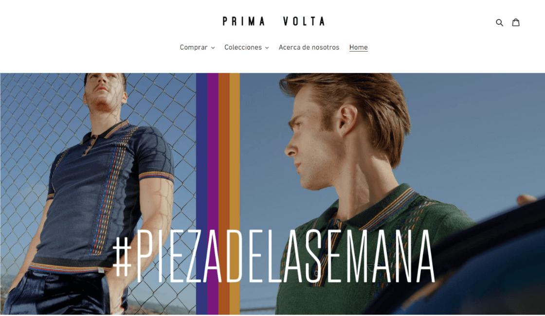 marketing digital de mejor marca de ropa mexicana prima volta