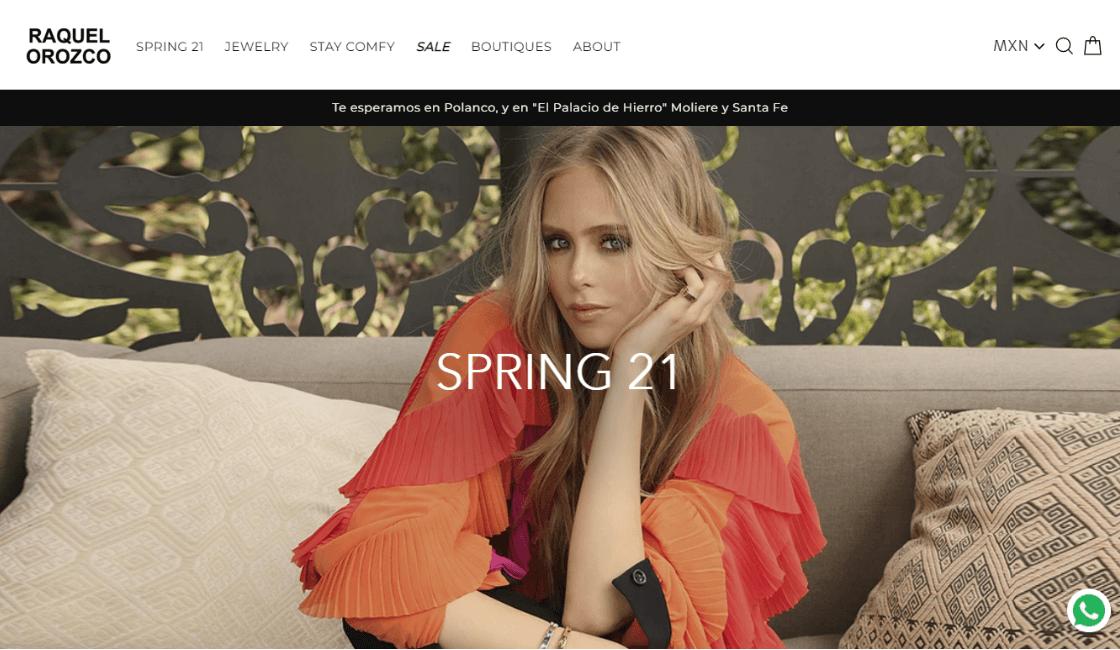 marketing digital de raquel orozco marca ropa mexicana