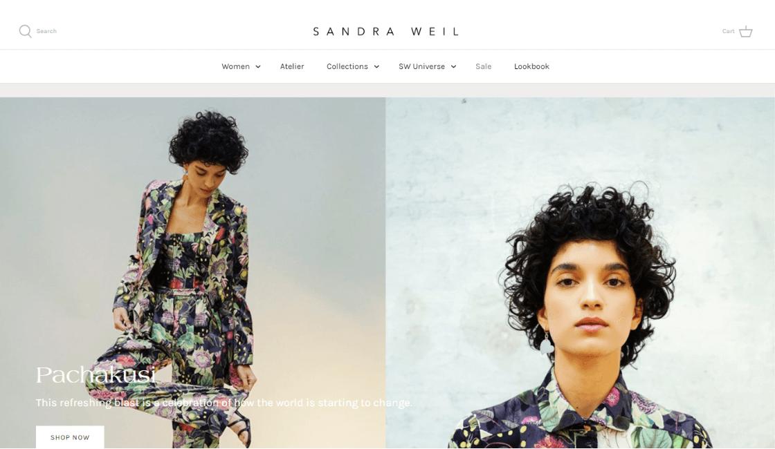 sandra weil marketing digital marca de ropa mexicana