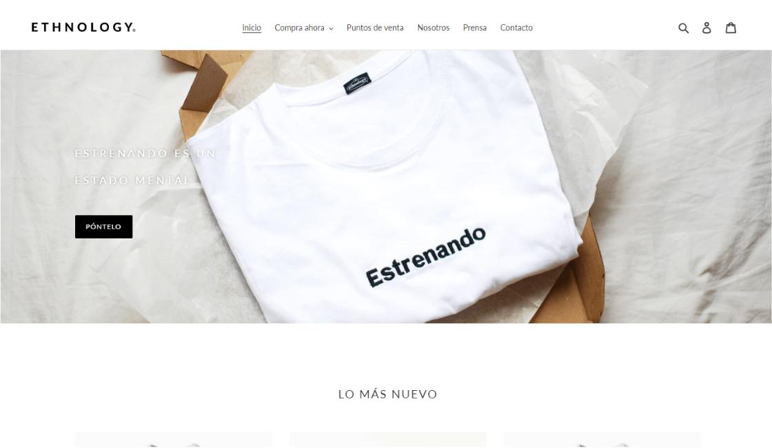 marca mexicana de ropa ethnology