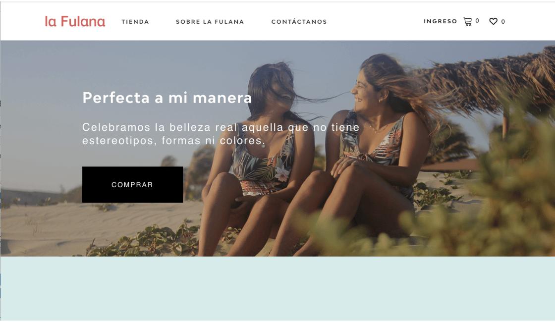 La fulana es una marcas de bikinis peruanas