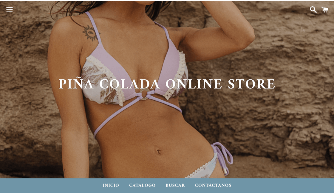 piña colada marcas de bikinis peruanas