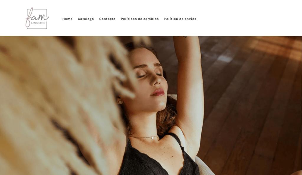 Fam lingerie es una de las marcas de lencería peruanas