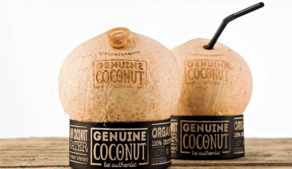 Agua de Coco packaging