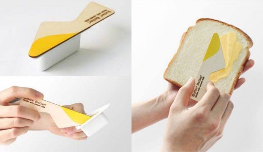 Butter Better diseño de packaging util
