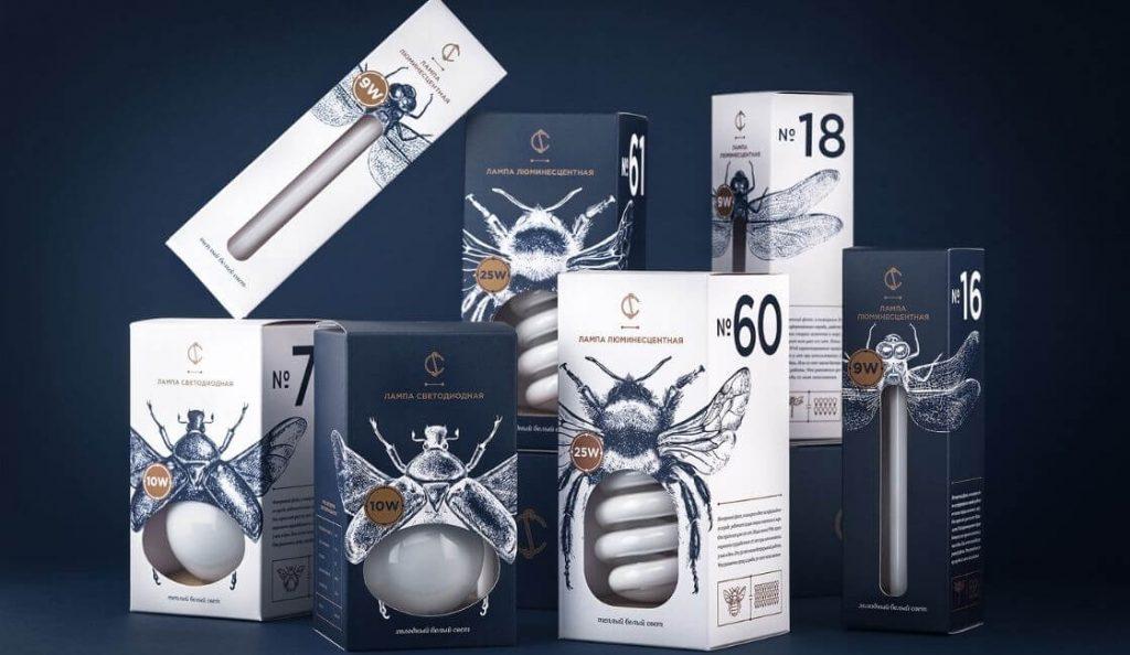 light bulbs diseños de packaging