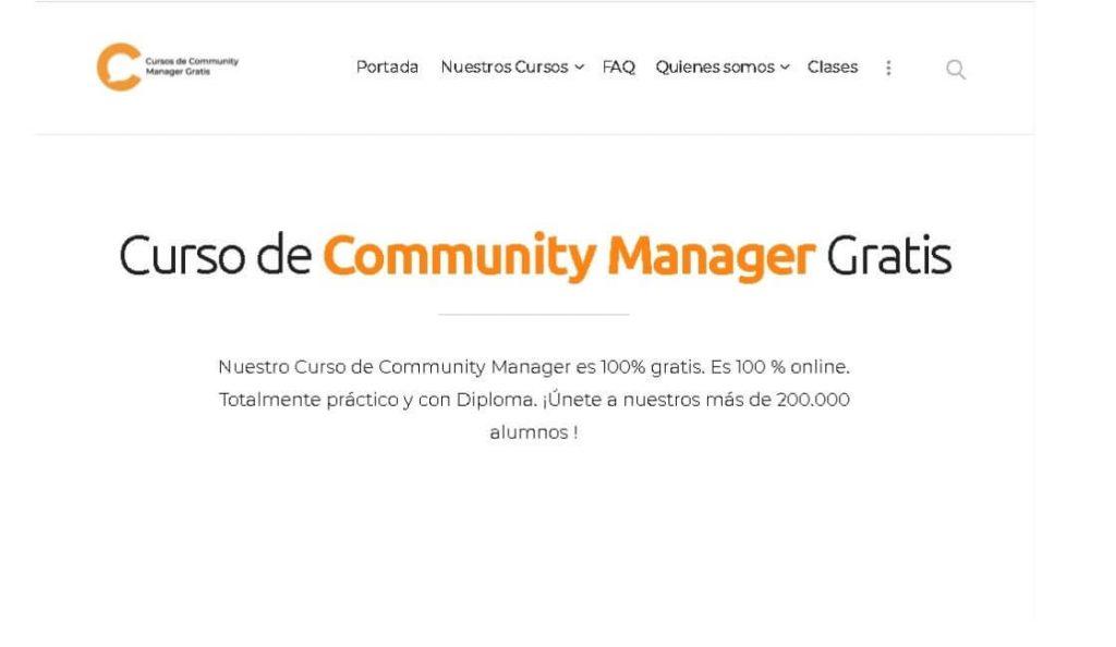 community manager gratis cursos