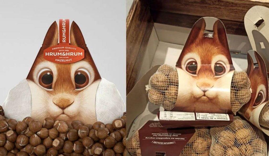 Hrum Hrum diseño de packaging creativo