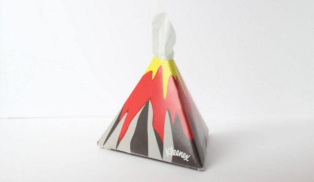 Kleenex Pañuelos diseño de packaging