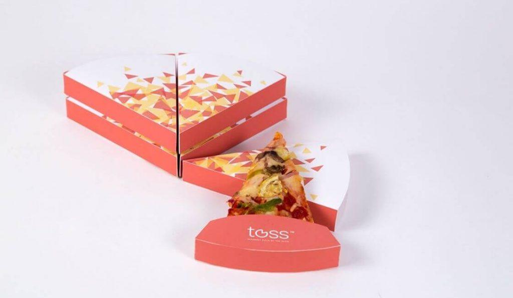 Toss Pizza empaque