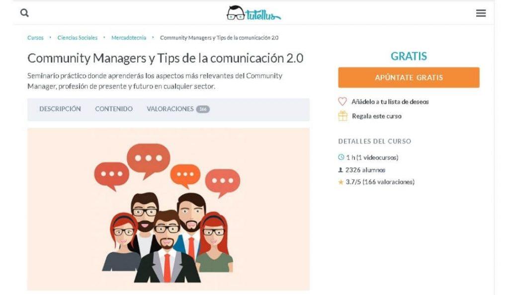 tutellus curso gratuito para community manager