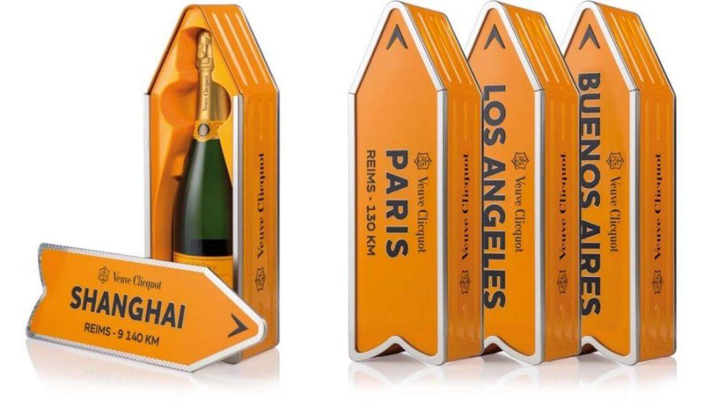 veuve diseños de packaging