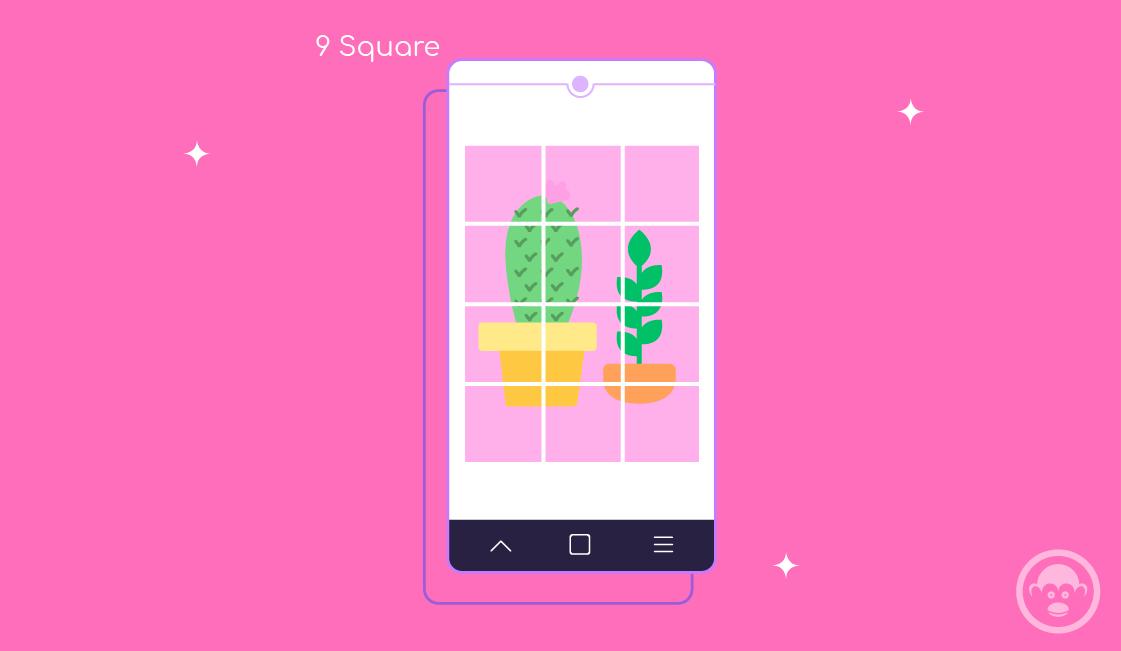 9 square app para feed de instagram