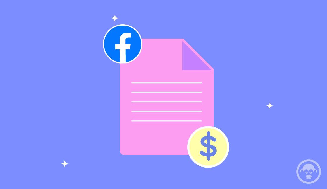 presupuesto en pagina de facebook