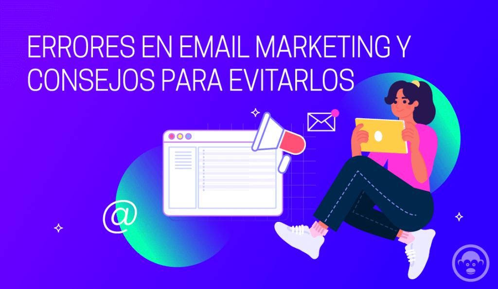 errores comunes en email marketing