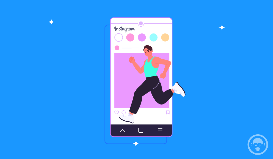 Fitness instagram tipo de contenido