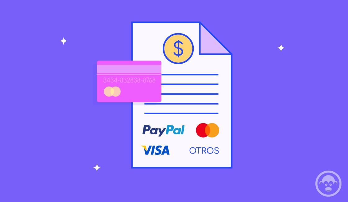 elegir medios de pago y facturacion