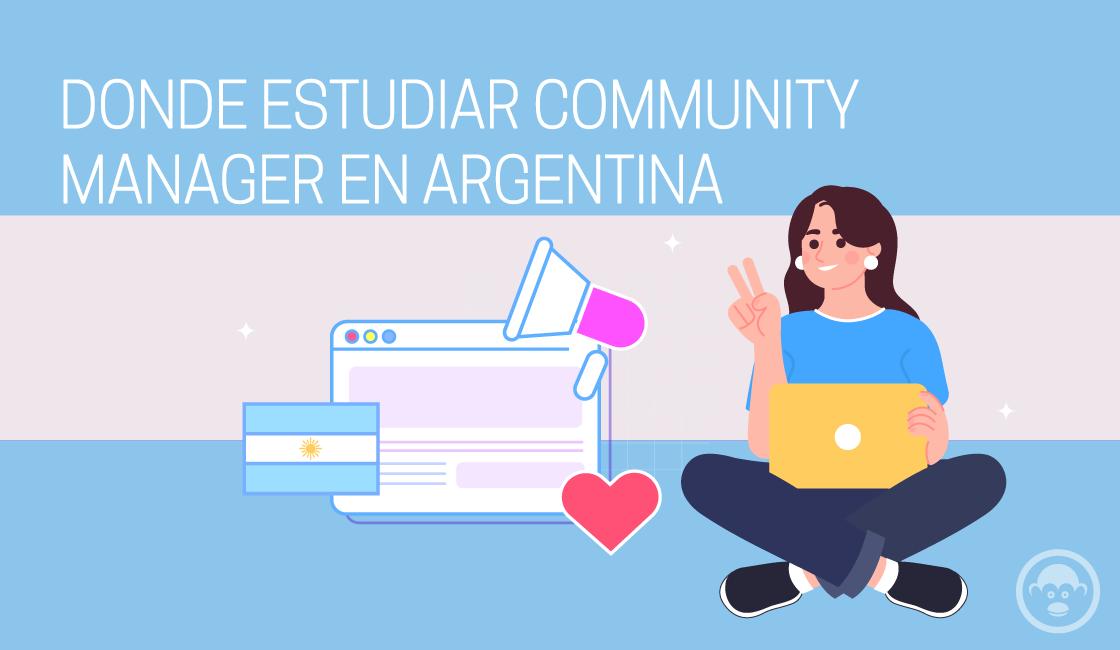 dónde estudiar community manager en Argentina
